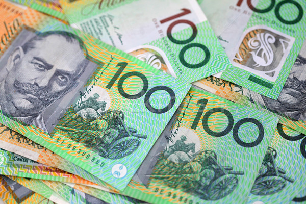 Australian Money Stock photo © jeayesy