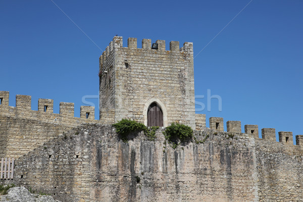 Obidos City Wall Stock photo © jeayesy