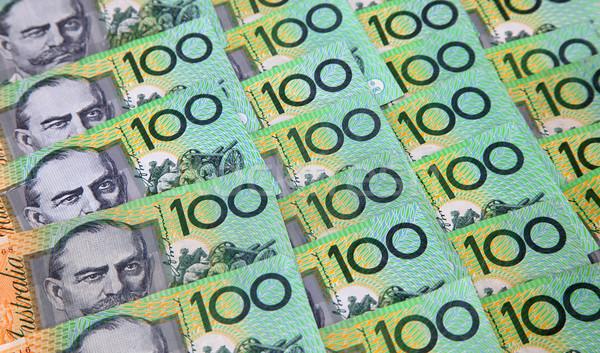 オーストラリア人 1 100 ドル ノート 100 ストックフォト © jeayesy