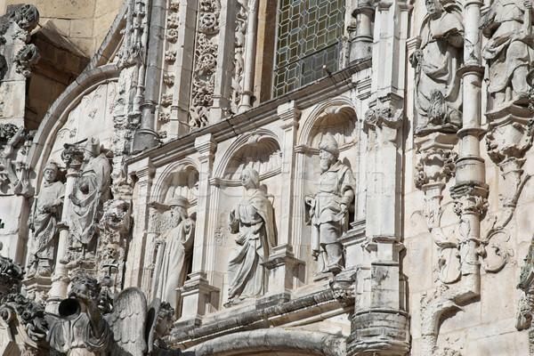 Santa Cruz Monastery - Coimbra Portugal Stock photo © jeayesy