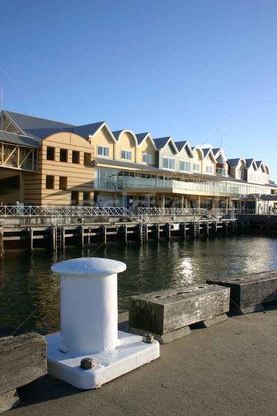 Queens Wharf - Newcastle Australia Stock photo © jeayesy