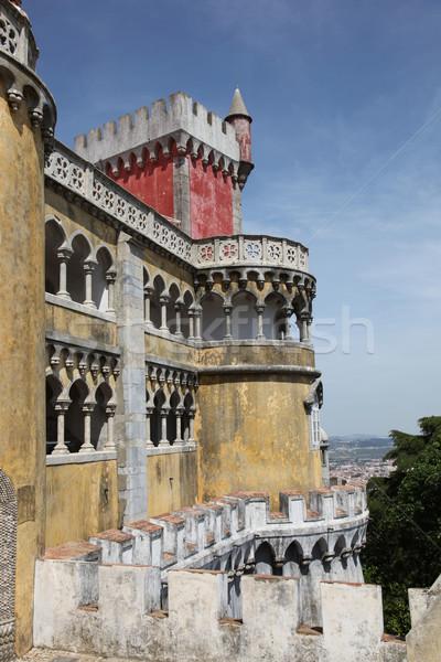 Palacio de Pena - Sintra Portugal Stock photo © jeayesy