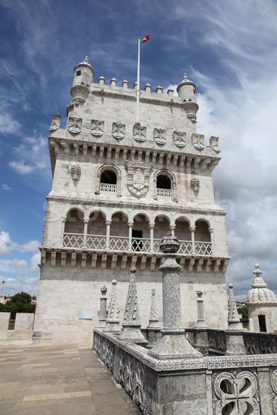 Torre de Belem in Lisbon Portugal  Stock photo © jeayesy
