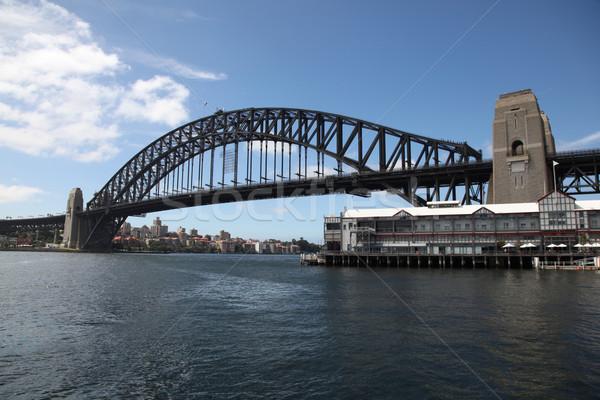 Sydney puerto puente Australia famoso agua Foto stock © jeayesy