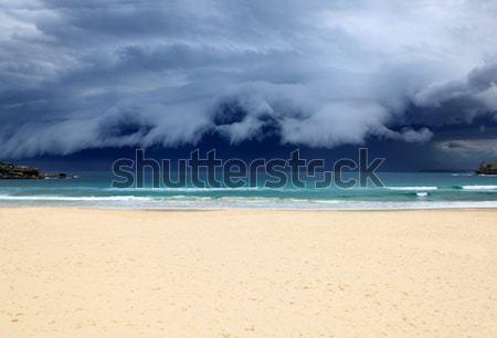 Plage tempête Sydney Australie dernier Photo stock © jeayesy