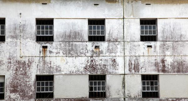 Prison windows Stock photo © jeayesy