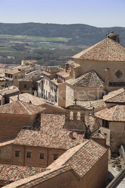 Cuenca Spain Stock photo © jeayesy