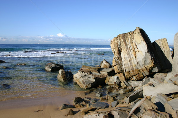 Rocky coastline Stock photo © jeayesy