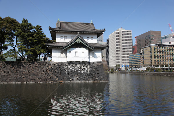 Japanese Imperial Palace Stock photo © jeayesy