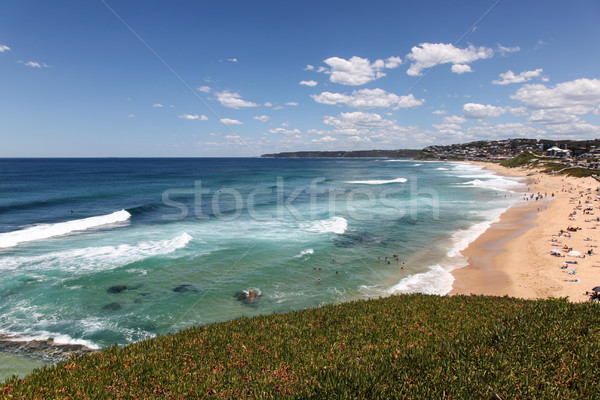 Bar Beach - Merewether Beach - NSW AUstralia Stock photo © jeayesy