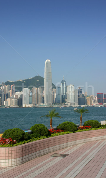 Hong Kong Skyline Stock photo © jeayesy