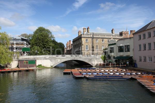 Cambridge ver rio icônico Foto stock © jeayesy