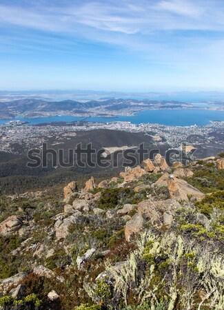 Tazmanya Avustralya Wellington görmek üst üzerinde Stok fotoğraf © jeayesy