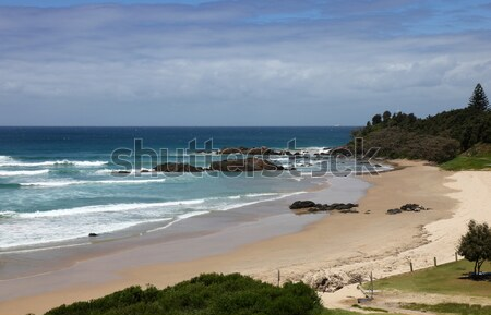 Town Beach - Port Macquarie - NSW Australia Stock photo © jeayesy