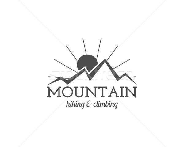 Stock fotó: Klasszikus · hegy · trekking · mászik · kirándulás · kempingezés
