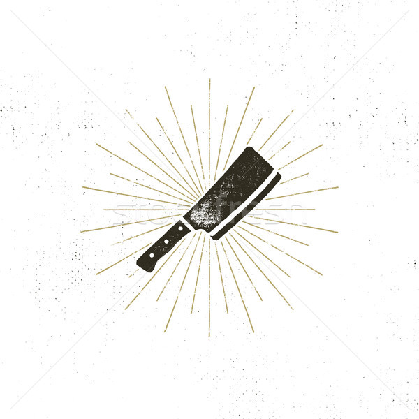 Stock photo: meat cleaver