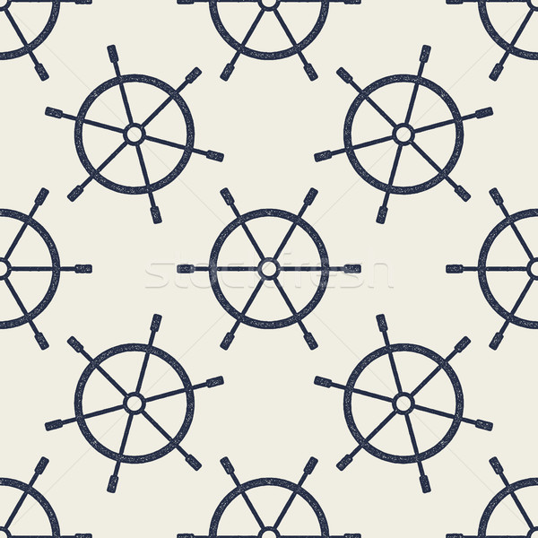 Koła retro morski tapety Zdjęcia stock © JeksonGraphics