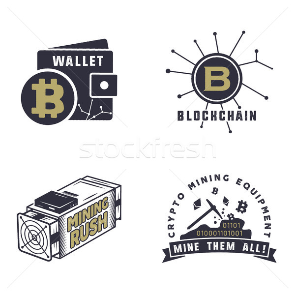Bitcoin devises concepts numérique logos Photo stock © JeksonGraphics
