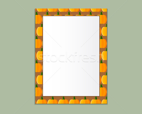 Format papier design vecteur texte cadre photo Photo stock © JeksonGraphics