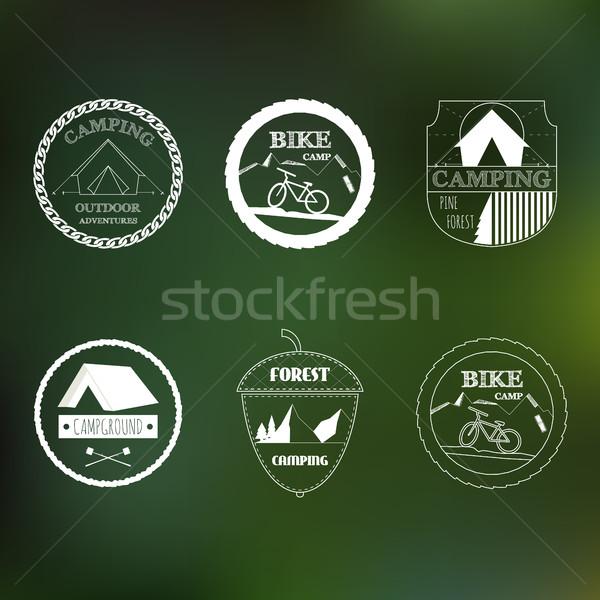 Outdoor Activity Elements Stock photo © JeksonGraphics