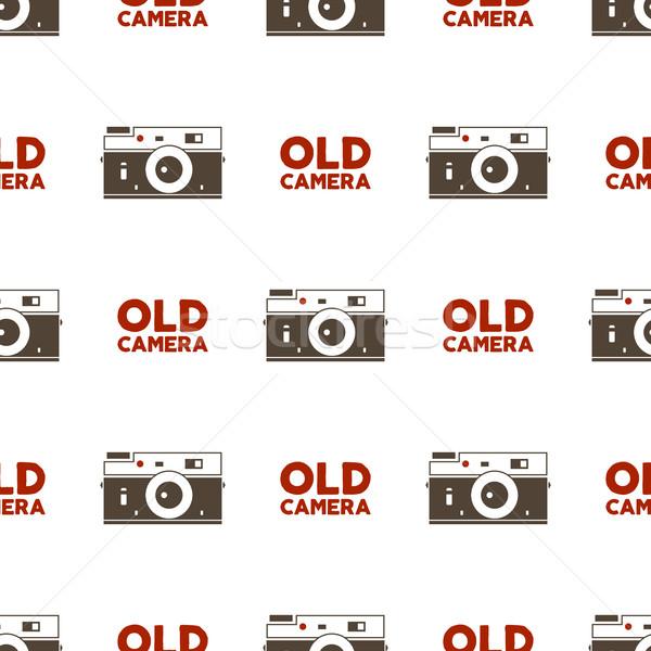 ストックフォト: 古い · カメラ · ヴィンテージ · 写真 · 要素