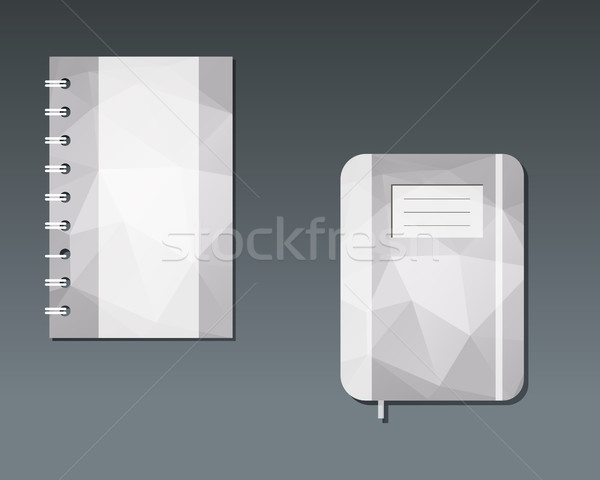 Corporate identity template design. Best for management consulting, finance, law companies. Unusual  Stock photo © JeksonGraphics