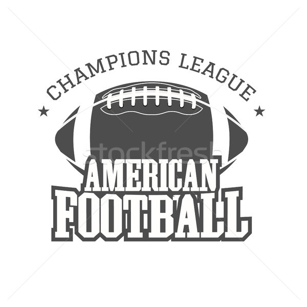 アメリカン サッカー リーグ バッジ ロゴ ラベル ストックフォト © JeksonGraphics