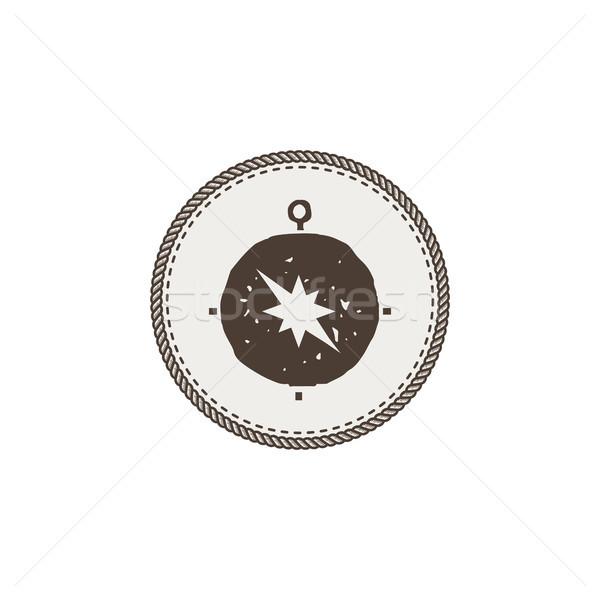 商業照片: 指南針 · 圖標 · 貼紙 · 冒險 · 符號
