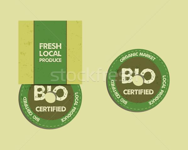 Farm fresche cd disco modelli Foto d'archivio © JeksonGraphics