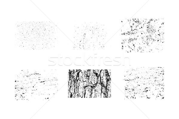 コレクション グランジ テクスチャ 独自の ヴィンテージ ストックフォト © JeksonGraphics