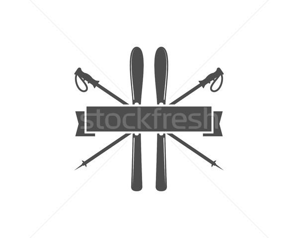商業照片: 冬天 · 體育 · 標籤 · 模板 · 復古 · 山