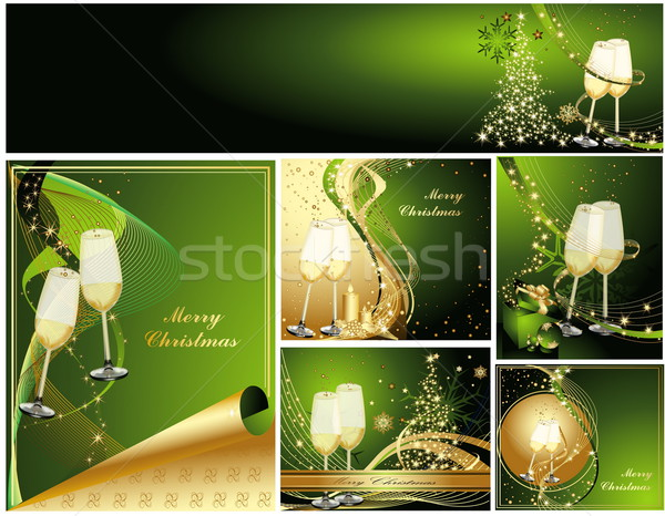 Merry Christmas background collections  Stock photo © jelen80