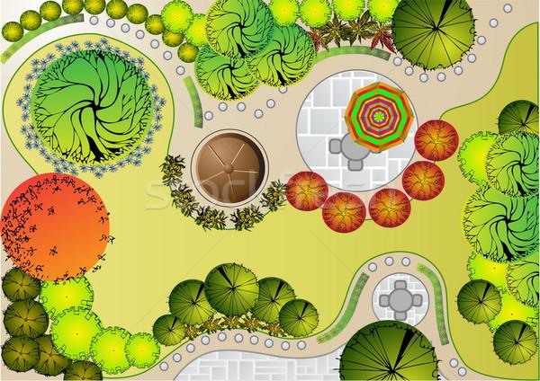 Stock photo:  Landscape  Plan