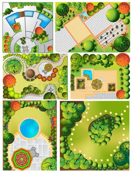 風景 計画 シンボル 家 建設 デザイン ストックフォト © jelen80