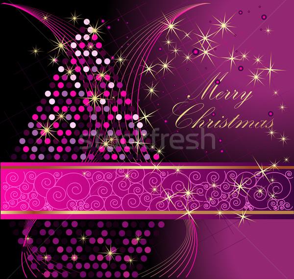 陽気な クリスマス 冬 星 金 ギフト ストックフォト © jelen80