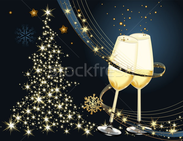 Merry Christmas background Stock photo © jelen80