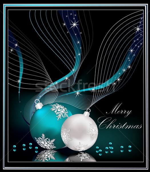 Christmas background  Stock photo © jelen80