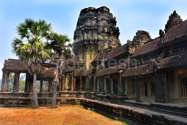 Angkor Wat temple, Siem Reap, Cambodia, february 2018 Stock photo © jelen80