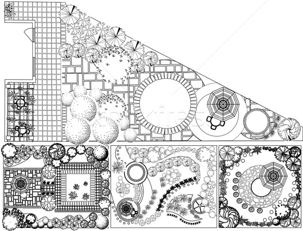 Черно-белые деревянные сельскохозяйственные строительства Стоковое ... | 458x600