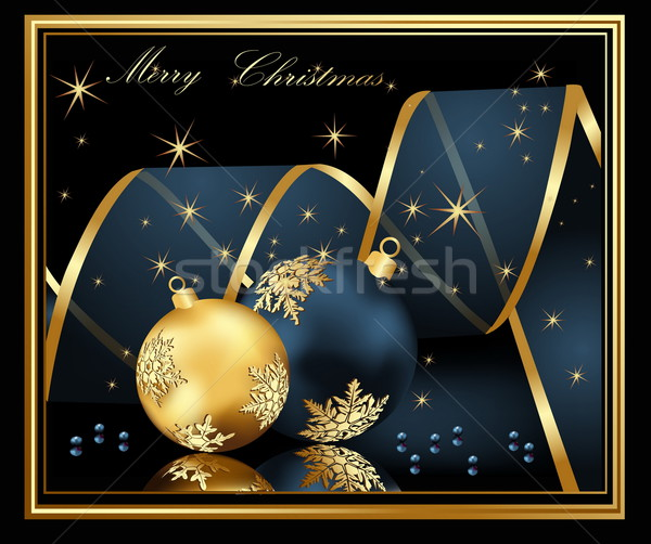 Marry Christmas background Stock photo © jelen80