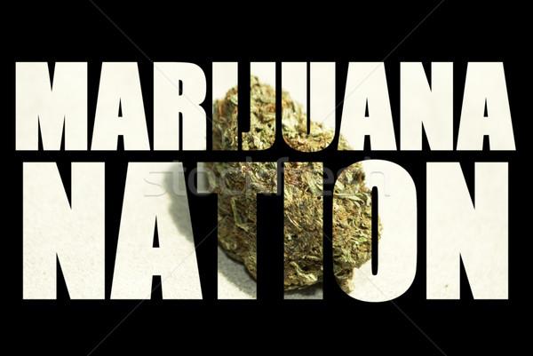 Stock photo: Medical Marijuana
