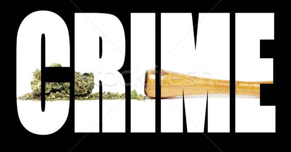 Stock photo: Marijuana Crime