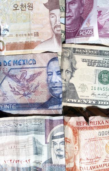 Adó pénz adózás valuta terv részlet Stock fotó © jeremynathan