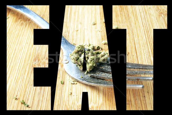 Marijuana, Edible  Stock photo © jeremynathan