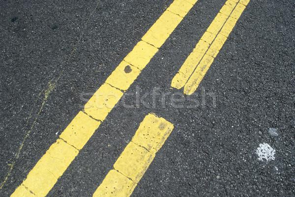 Гранж город городского конкретные тротуаре Сток-фото © jeremynathan