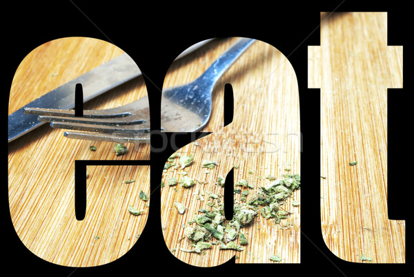 Stock photo: Marijuana, Edible