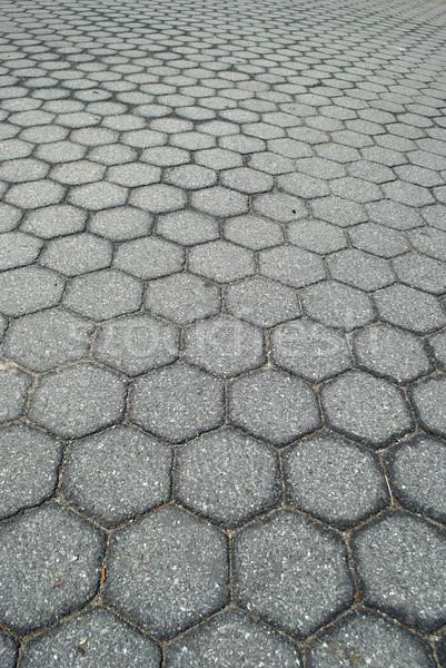 Grunge cidade urbano concreto calçada Foto stock © jeremynathan