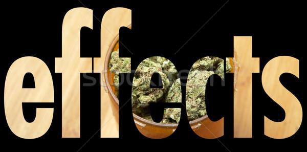 Stock photo: Marijuana, Medical and Recreational Drug Industry in America