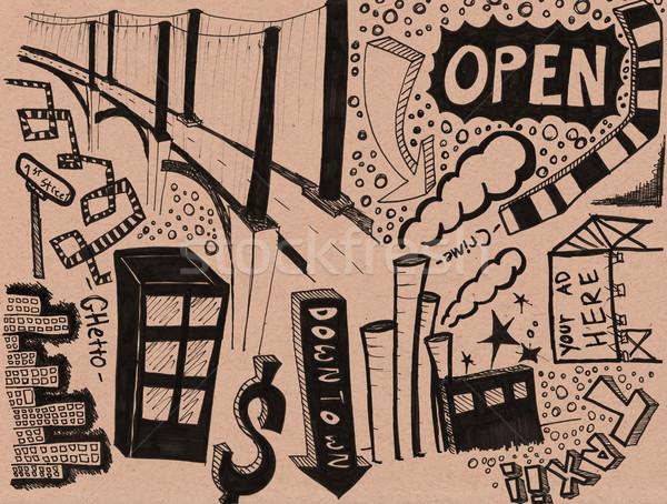 市 生活 デザイン ストックフォト © jeremywhat