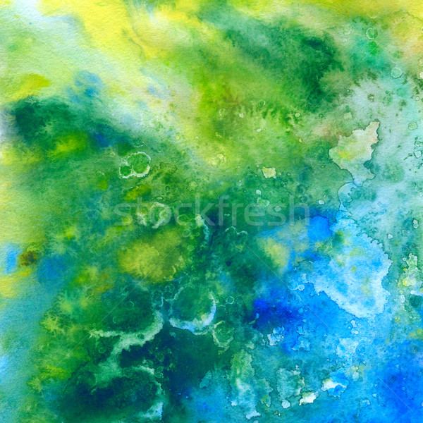 Tropic sea. Abstract watercolor background Stock photo © jet
